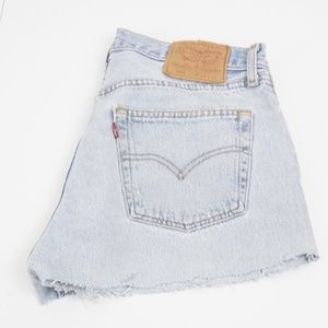 3 for $10 SALE Vintage Levi's 501 wedgie shorts
